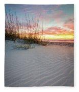 North Beach Dunes Fleece Blanket