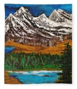 Number Four - Call Of The Wild Fleece Blanket