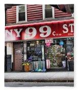 Ny 99 Cent Store Brooklyn  Fleece Blanket