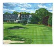Oakmont Country Club Fleece Blanket