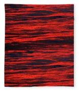 Ocean Abstract Fleece Blanket