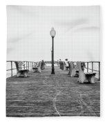 Ocean Grove Pier 1 Fleece Blanket