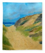 Ocean View Fleece Blanket