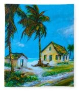 Old Bahama Road Fleece Blanket