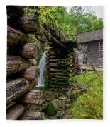 Old Mingus Mill Fleece Blanket