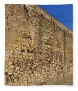 Oldest Castle Of Castro Marim Fleece Blanket