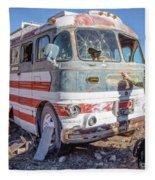 On Location Photographer Edward Fielding In Jerome Arizona Fleece Blanket