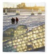 On The Ice Fleece Blanket