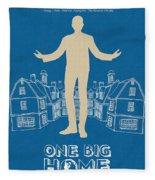 One Big Home Fleece Blanket