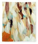 Orange #1 Fleece Blanket