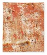 Orange Day Fleece Blanket