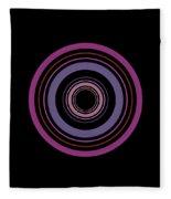 Orbital 5 Fleece Blanket