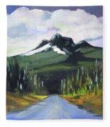 Oregon Road Trip Fleece Blanket