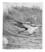 Osprey The Catch Bw Fleece Blanket