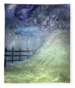 Oya's Hill Fleece Blanket