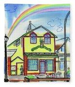 Paddy's Pub Fleece Blanket