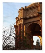 Palace Of Fine Arts At Sunset Fleece Blanket