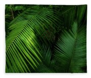 Palm Saturday Fleece Blanket