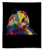 Panda Little Bear Australia Animal Color Designed Fleece Blanket