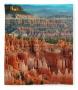 Panorama Bryce Canyon  Fleece Blanket
