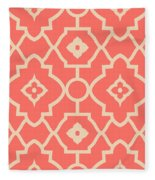 Pantone Pattern Fleece Blanket
