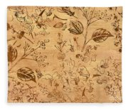 Paper Petal Patterns Fleece Blanket