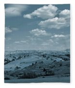 Parade Of Light And Shade Fleece Blanket