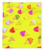 Parlor Patterns Fleece Blanket