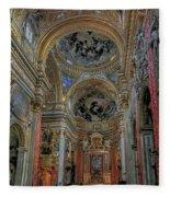 Parrocchia Santa Maria In Vallicella Fleece Blanket
