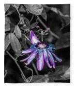 Passion Flower Only Alt Fleece Blanket