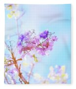 Pastels In The Sky Fleece Blanket