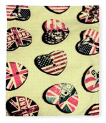 Patriotic Picks Fleece Blanket