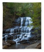 Pearson's Fall And Glen - Saluda North Carolina Fleece Blanket