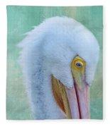 Pelican Beauty Fleece Blanket