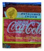 Petalima's Drink Coca-cola Fleece Blanket