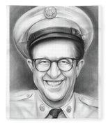Phil Silvers As Sgt Bilko Fleece Blanket