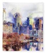 Philadelphia, Pennsylvania - 04 Fleece Blanket