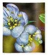 Photinia Spring Fleece Blanket