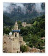 Photo Valldemossa, Mallorca Fleece Blanket