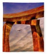 Pi In The Sky Fleece Blanket