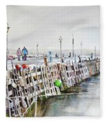 Piers To Be Cold Fleece Blanket