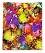 Pigment Noise Fleece Blanket