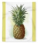 Pineapple Fleece Blanket