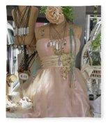 Pink Lady Series 01 Fleece Blanket