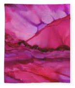 Pink Light Of Dawn Fleece Blanket
