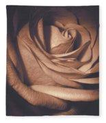 Pink Rose Petals 0219 Fleece Blanket