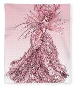 Pink Sussurus Fleece Blanket