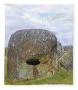 Plain Of Jars Fleece Blanket