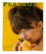 Playboy, February 1966 Fleece Blanket