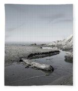 Point Arena Beach California Fleece Blanket